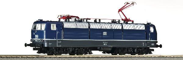 Gebrauchtes 7114142 Roco 4142 Locomotora Eléctrica Br 181.2 Azul Digital Escala