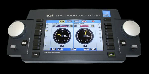 7/' TFT Farbdisplay ESU 50210 Digitalzentrale ECoS 2.1 MM//DCC//SX//M4